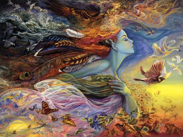 Spirit by Josephine Wall