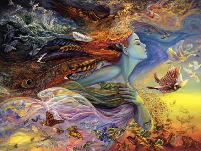 Spirit by Josephine Wall