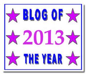 Blog of the Year Award 2013