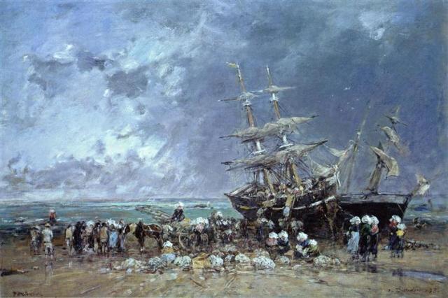 unloading-the-newfoundland-fishing-boat-1873.jpg!Large