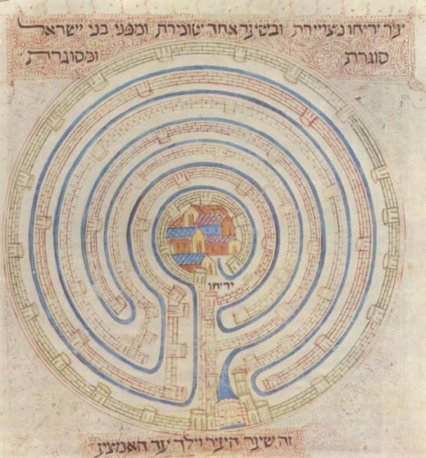 Map_of_Jericho_in_14c_Farhi_Bible_by_Elisha_ben_Avraham_Crescas