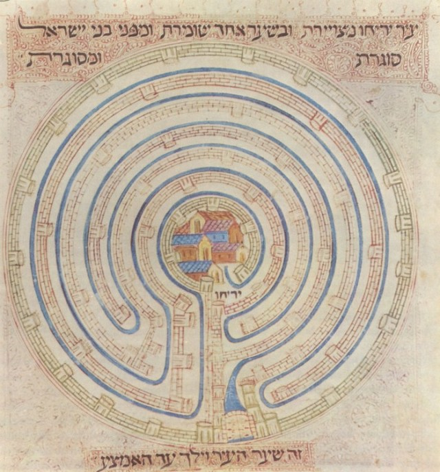 Map_of_Jericho_in_14c_Farhi_Bible_by_Elisha_ben_Avraham_Crescas