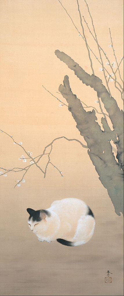 cat-and-plum-blossoms-1906