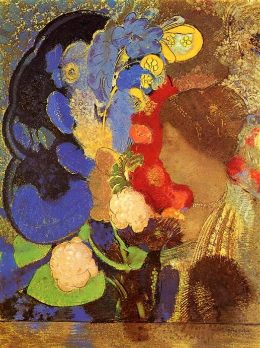 all Odilon Redon via wikiart.org public domain