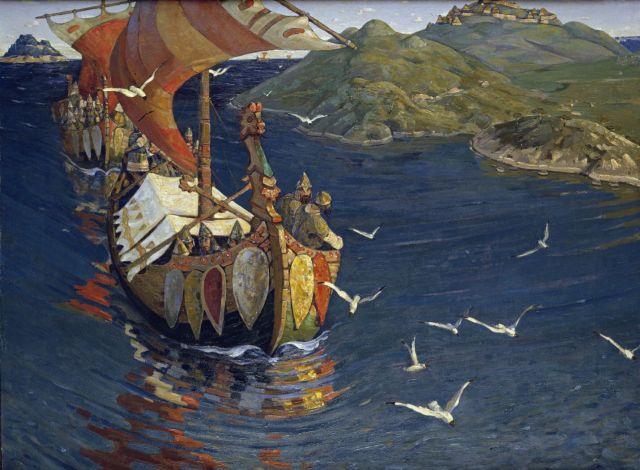 art by Nicholas Roerich wikiart.org public domain